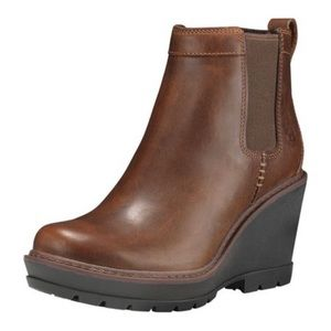 Timberland Kellis Chelsea wedge ankle boots 8
